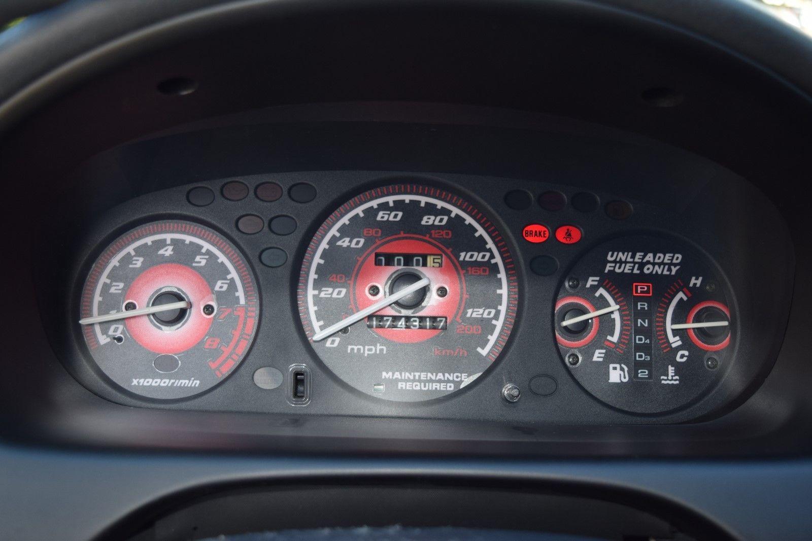 Amazing 1996 Honda Civic Hatchback Type Fuel Gauge Item Specifics