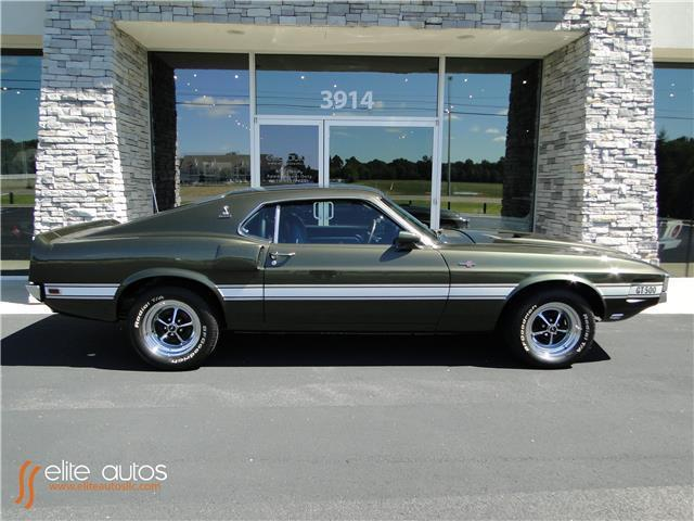 Great 1969 Ford Mustang Gt 500 2018 1 Miles Green 428 Manual 2017