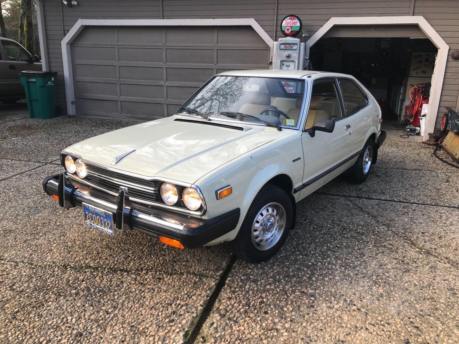 Amazing 1981 Honda Accord Hatchback 17 685 Original Miles 2017 2018