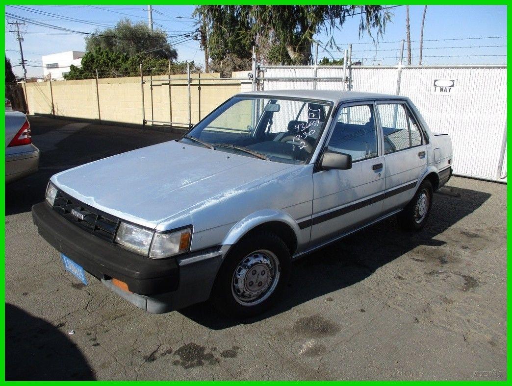Great 1987 Toyota Corolla Deluxe 1987 Toyota Corolla Deluxe Used 1 6