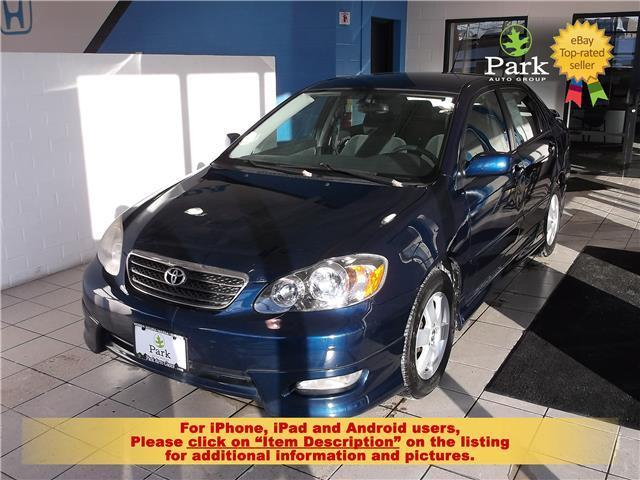 2008 Toyota Corolla For Sale >> Amazing 2008 Toyota Corolla S 2008 Toyota Corolla 168k Dealer Trade Absolute Sale 1 00 No Reserve Look 2017 2018