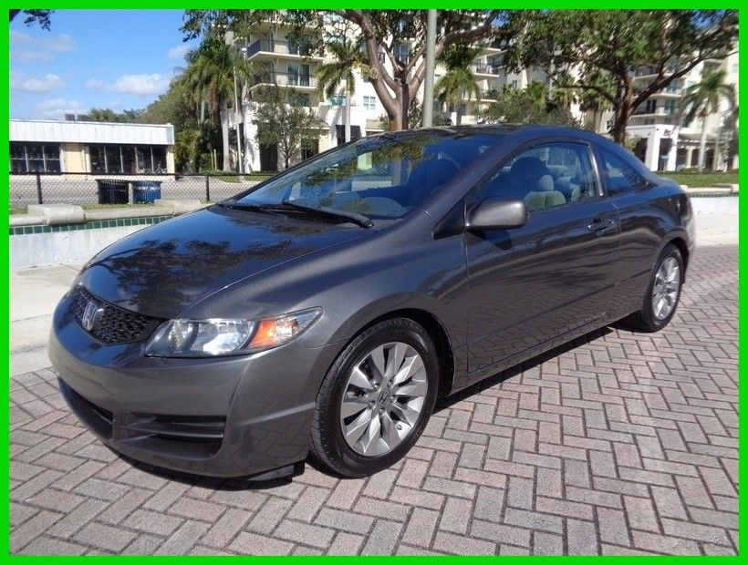 Awesome 2010 Honda Civic Ex Coupe Clean Carfax Low Miles Sunroof 1 8l No Reserve 2018 2019