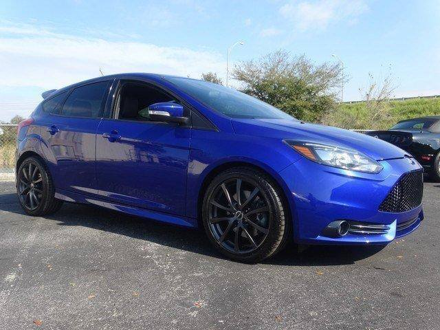 Awesome 2014 Ford Focus St 2014 Ford Focus St Blue Super Fast