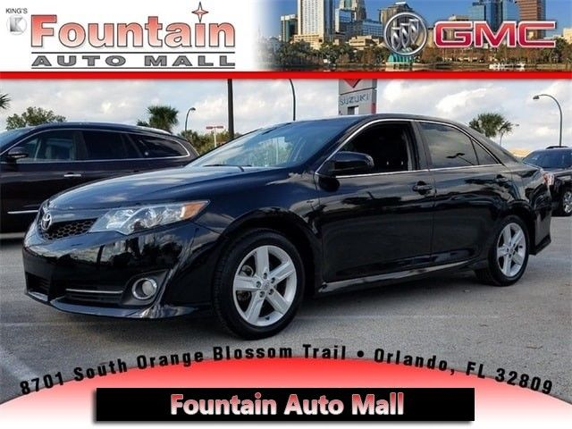 Black Toyota Camry >> Awesome 2014 Toyota Camry Se 2014 Toyota Camry Se 44421 Miles