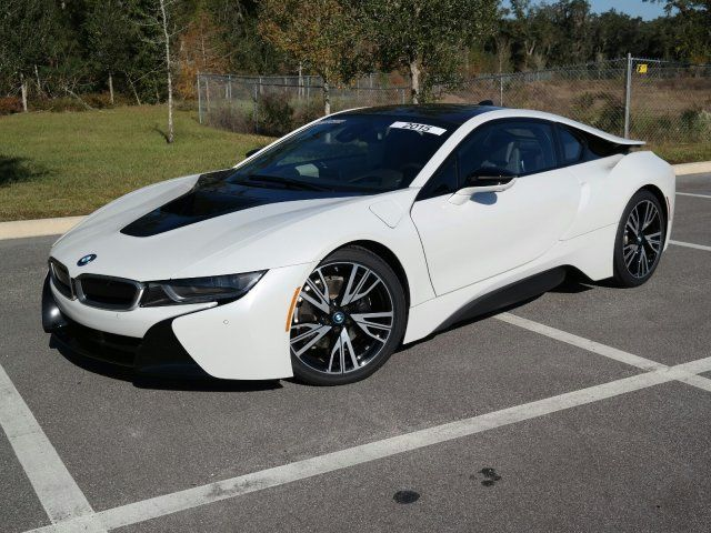 Great 2017 Bmw I8 8459 Miles White 2dr Car Intercooled Turbo Gas Electric I 3 1 5 L 9 2018 2019