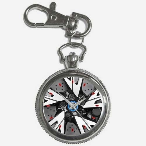 Amazing 2016 Bmw I8 Mega Coupe Wheel Accessories Key Chain Watch