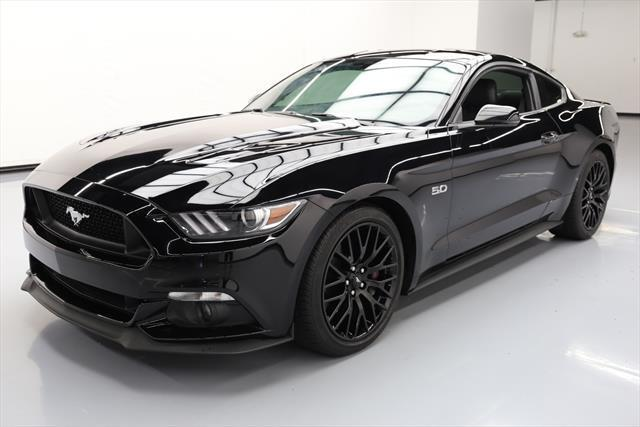 Awesome 2016 Ford Mustang Gt Prem 5 0 6spd Leather Rear Cam 13k 208675 Texas Direct 2018 2019