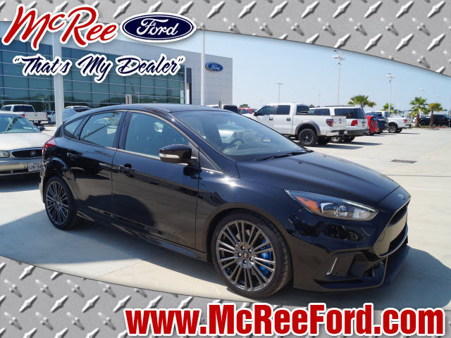 Amazing 2017 Ford Focus Rs Hatchback Black With 0 Miles For 2018 2019