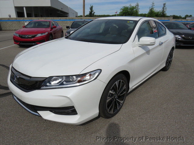 Awesome 2017 Honda Accord Ex L V6 Automatic New 2 Dr Coupe Gasoline 3 5l Cyl White Orchid Pea 2018