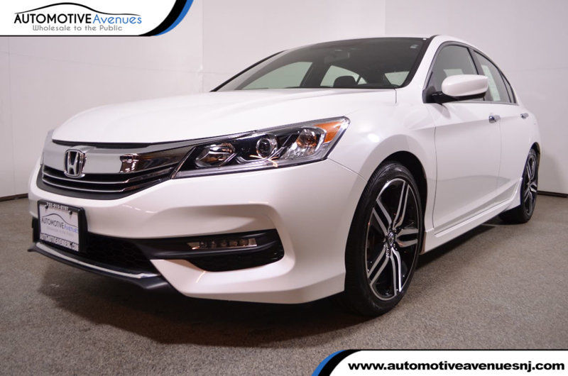 Awesome 2017 Honda Accord Sport Cvt Sedan White Orchid Pearl 2 4l 4 Cylinder Autom 2018 2019