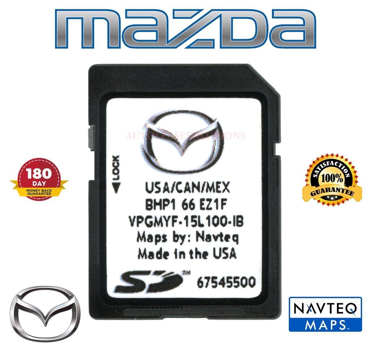 Awesome 2016 2017 2018 MAZDA Navigation SD Card BHP1 66 EZ1F Mazda 3 6 CX-3  CX-5 2018-2019