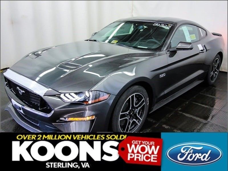 Awesome 2018 Ford Mustang Gt Premium Msrp 41195 Magnetic Gray Nav 3 55 Ls Leather Sync Hid Led Fog Lights 2017