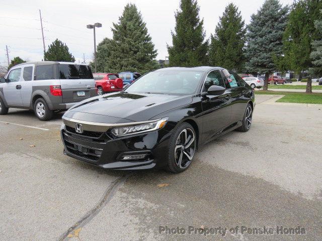 Awesome 2018 Honda Accord Touring 2 0t Automatic New 4 Dr Sedan Gasoline 0l Cyl Crystal Blac 2017