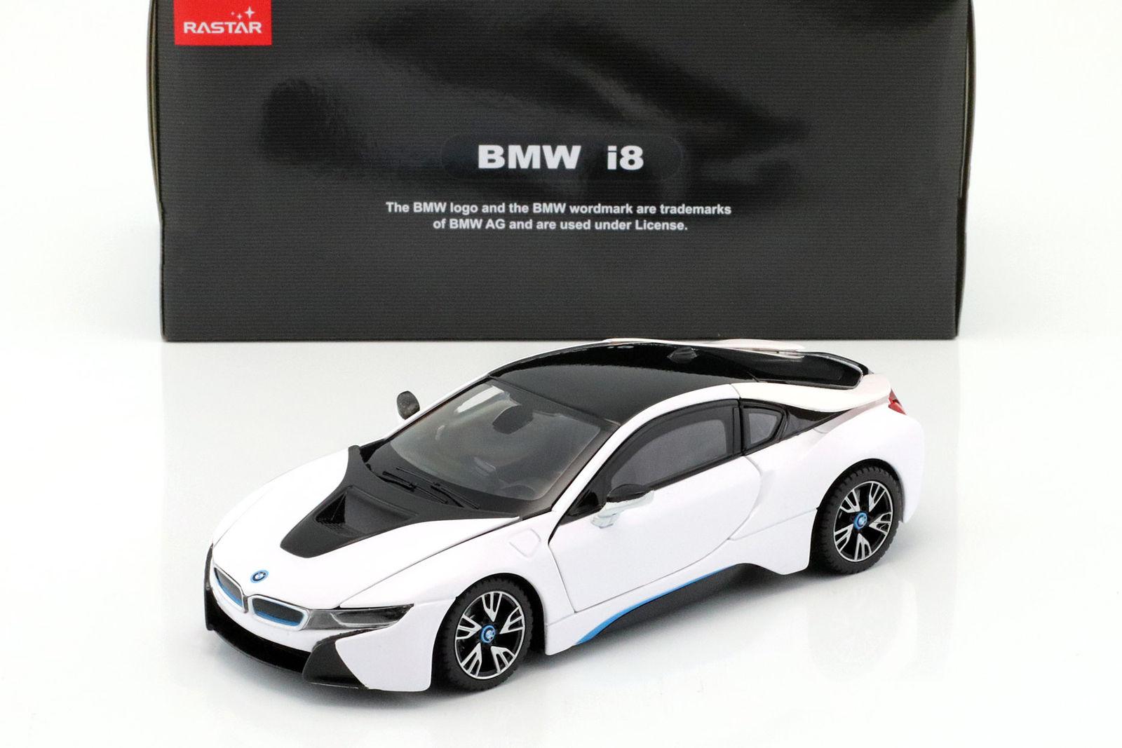 Great Bmw I8 Year 2015 White Black 1 24 Rastar 2017 2018 Mycarboard