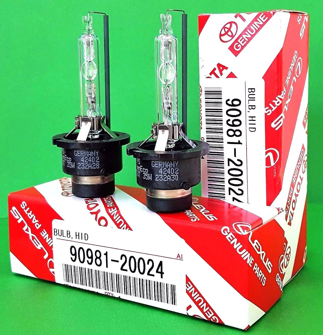 Awesome D4S x2 NEW OEM 90981-20024 20013 HID XENON Replacement Headlight  Bulbs 2018-2019