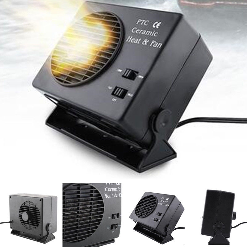 300w Car Portable Ceramic Heating Cooling Heater Fan Defroster Demister Dc 12v Consumer Electronics