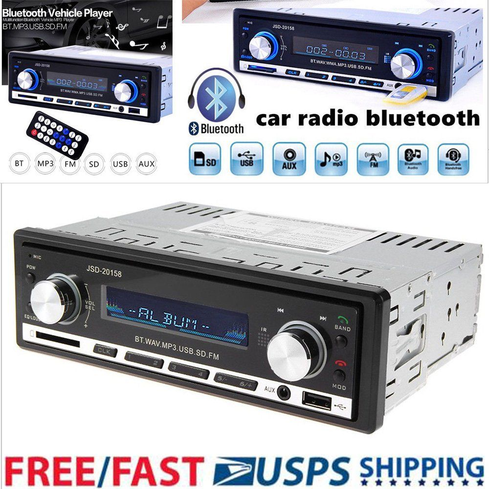 great in dash car bluetooth stereo audio mp3 player fm radiogreat in dash car bluetooth stereo audio mp3 player fm radio handsfree calling aux usb 2018 2019
