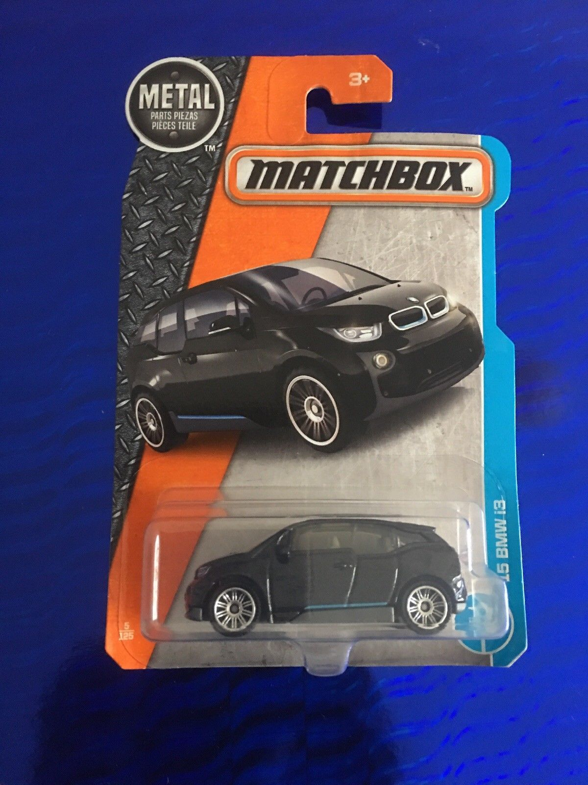 Great Matchbox 2017 Metal Parts Piezas 15 Bmw I3 Black