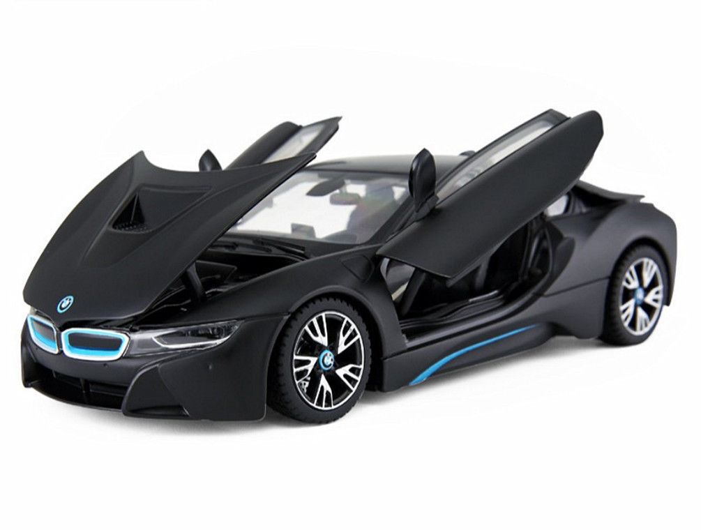 Great Rastar 1 24 Bmw I8 Concept Car Diecast Model New In Box Black