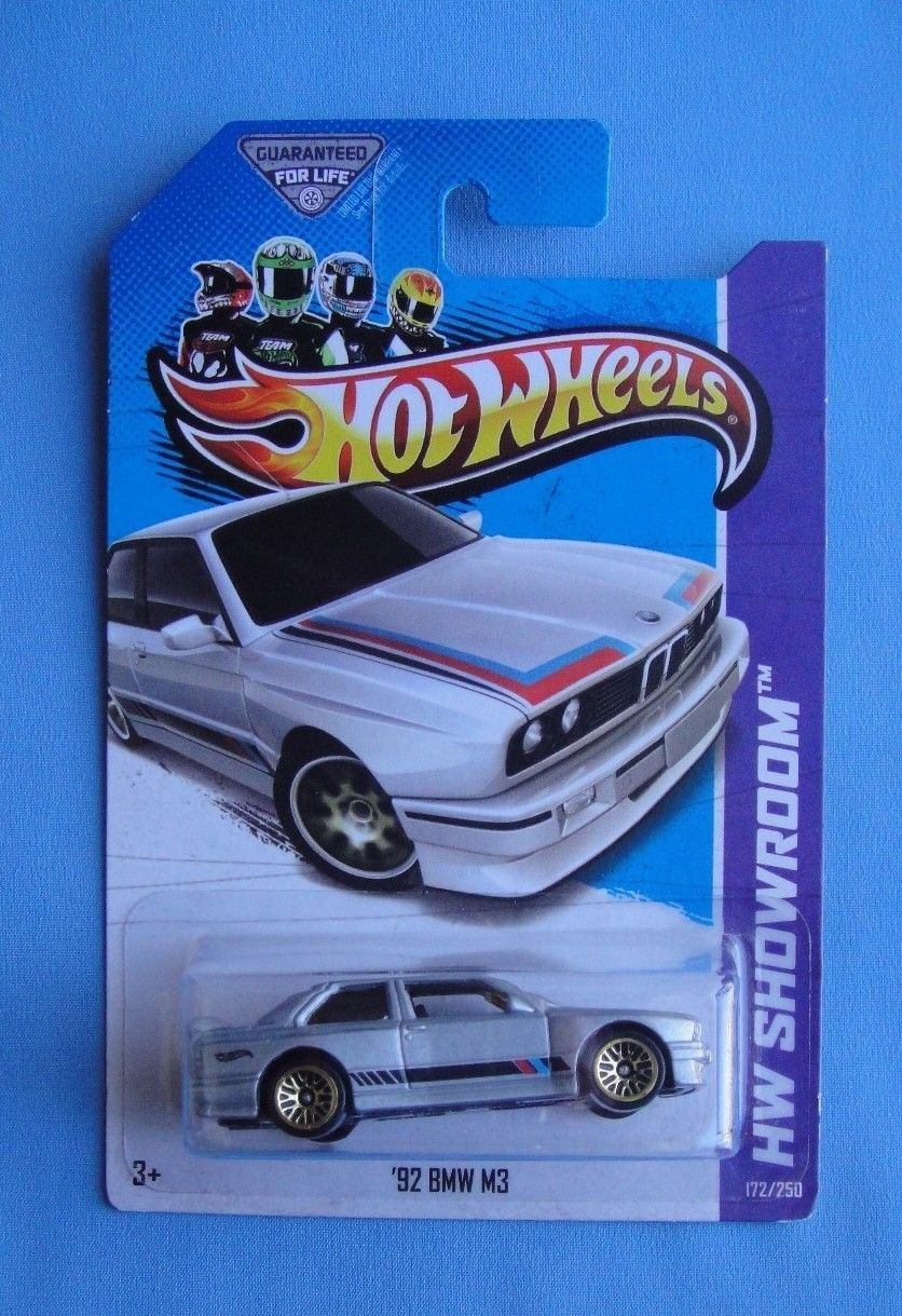 Amazing 2017 Hot Wheels 92 Bmw M3 Silver Red Blue Kmart
