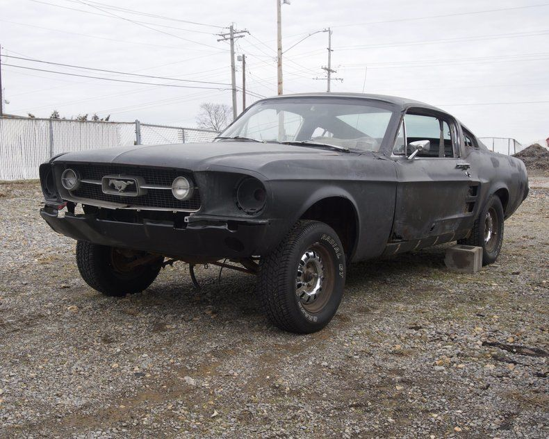 Awesome 1967 Ford Mustang Fastback GT Project 390GT S Code 4 Speed Raven Black NO RESERVE 2017 2018