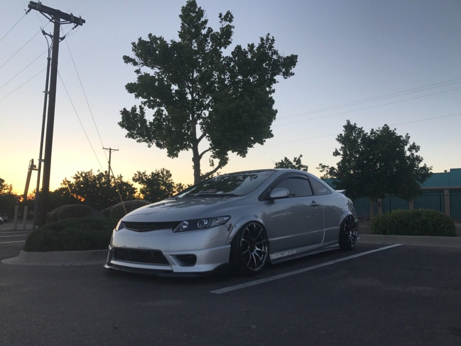 Amazing 2007 Honda Civic Si Coupe Supercharged Air Ride Brakes Low Miles Must See 2018 2019