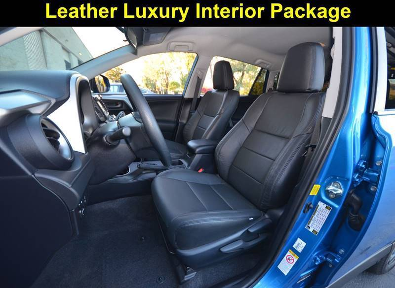 Awesome 2016 Toyota Rav4 Premium Le With Leather Rear Cam Genuine Seats Backup Camera Bluetooth Smart Radio 1 Owner 2018 2019