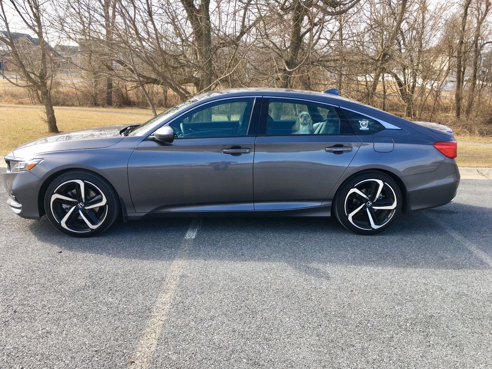 Great 2018 Honda Accord Sport Cvt 192hp 1 5 Liter Direct Injection Turbo Charged 4 Cylinder Engine 2017