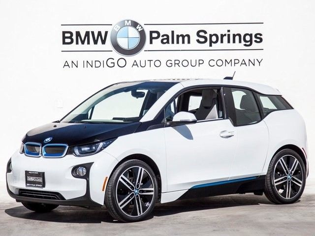 Great 2014 BMW I3 With Range Extender Single Speed Automatic27099 MilesCapparis White 2017 2018
