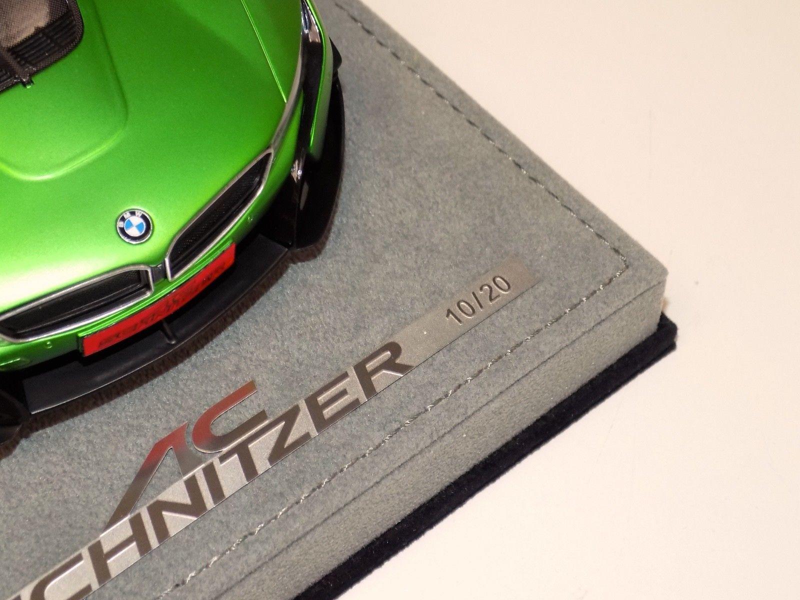 Amazing 1 18 Ab Models Bmw I8 Ac Schnitzer Acs8 In Matt Green On