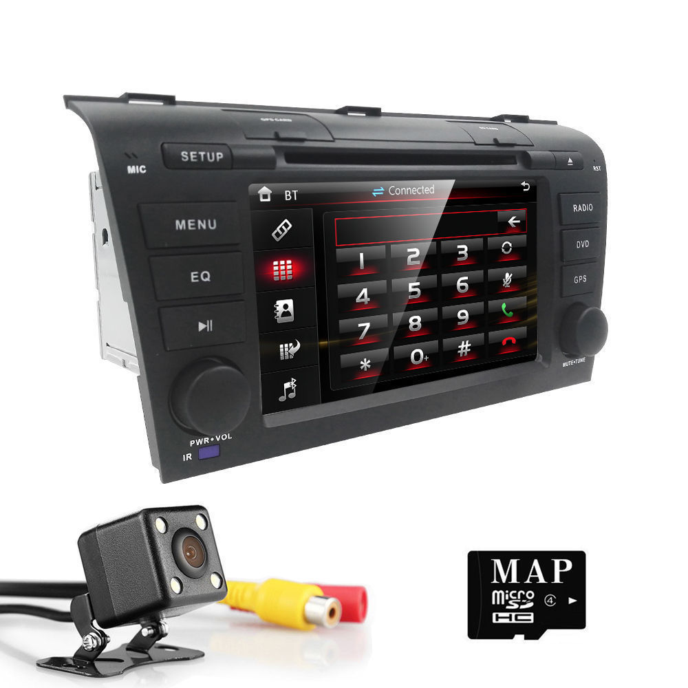 Great For Mazda 3 2004 2005 2006 2007 2008 2009 Car DVD Stereo GPS Map  Radio Player 2018-2019