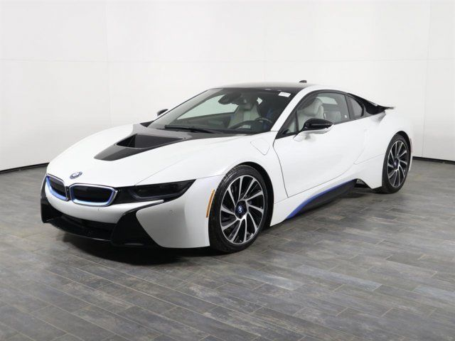 Amazing 2017 Bmw I8 Hybrid Coupe Awd Off Lease Only 3 Cylinder Engine 1 5l 91 2018
