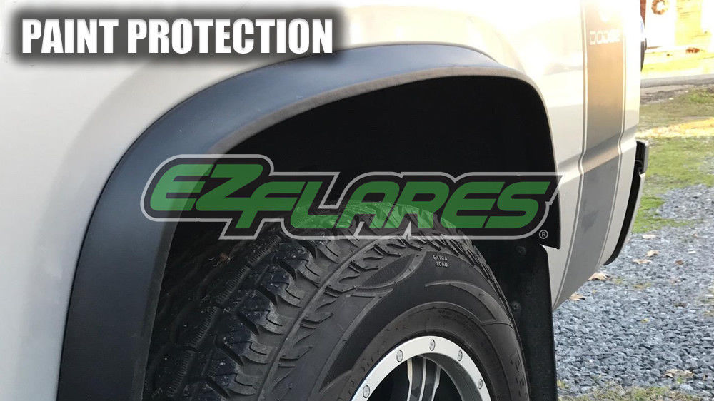 great ez flares xl universal flexible rubber fender flares easy peel stick chevy