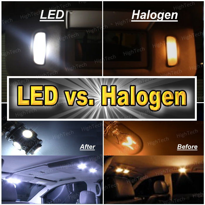 6x White LED Lights Interior Package Deal For 2004-2006 2007 2008 2009 Mazda 3