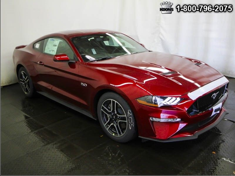 amazing 2018 ford mustang gt premium msrp 41590 ruby red navigation ls leather sync 3. Black Bedroom Furniture Sets. Home Design Ideas