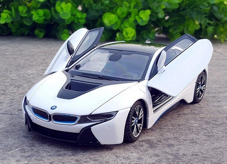 Amazing Rastar 1 24 Bmw I8 Concept Car Diecast Model New In Box