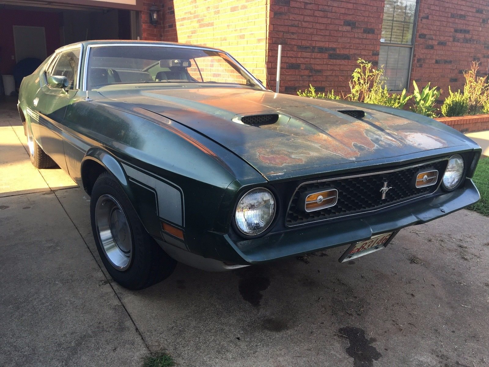 Amazing 1971 Ford Mustang Mach 1 2018 2019