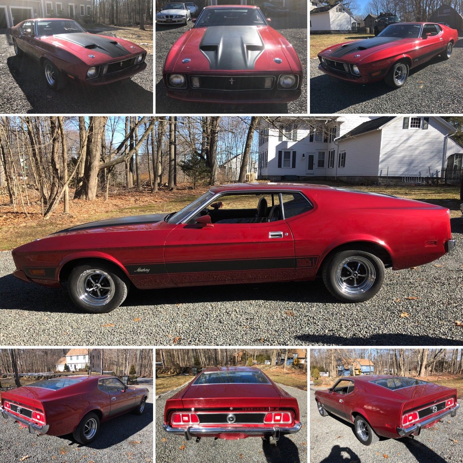 Amazing 1973 ford mustang mach 1 1973 mustan mach 1 351 cleveland v8 powered runs and drives as good as it looks 2018 2019