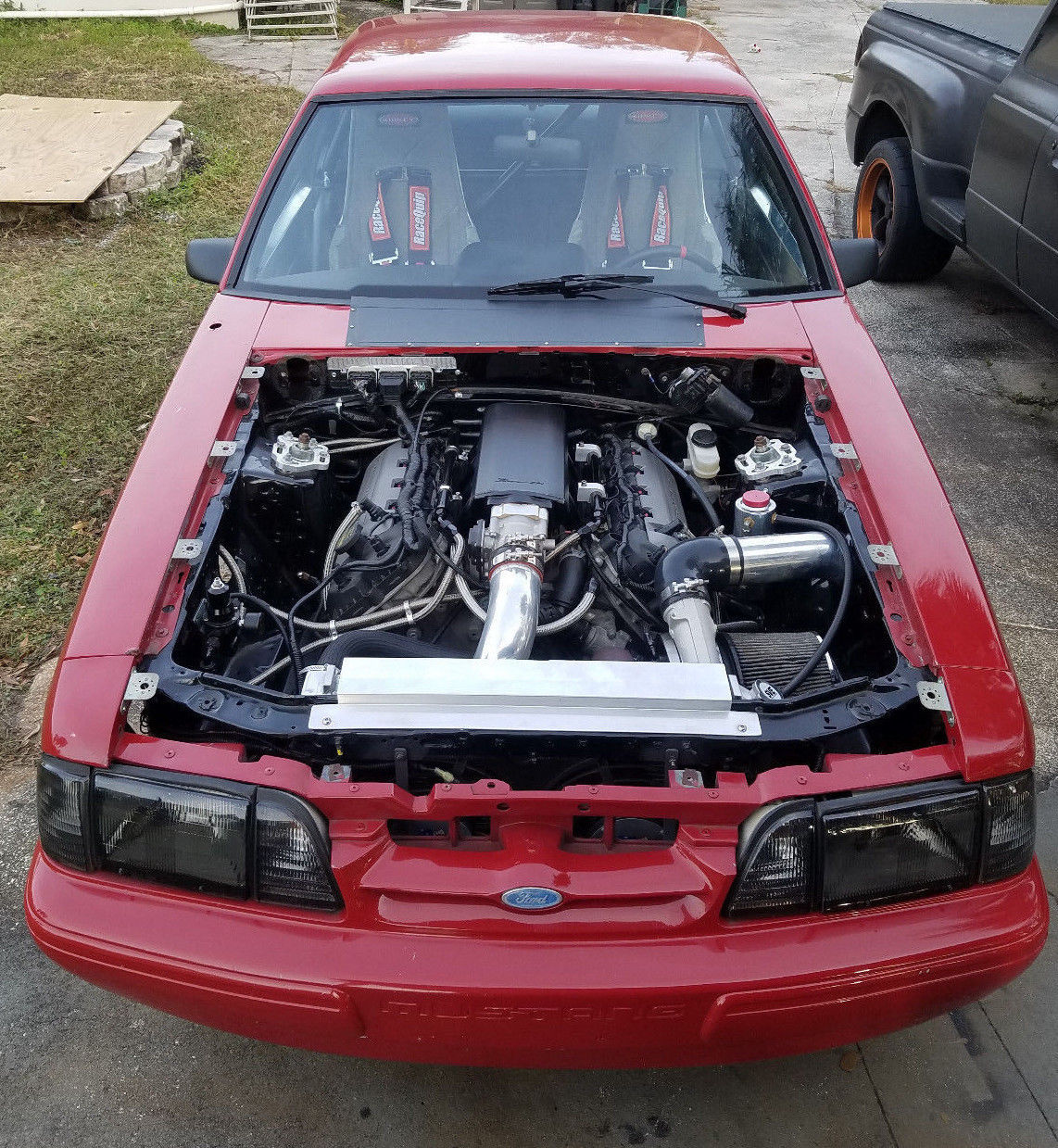 Great 1988 Ford Mustang LX Turbo Coyote Swap Fox Body