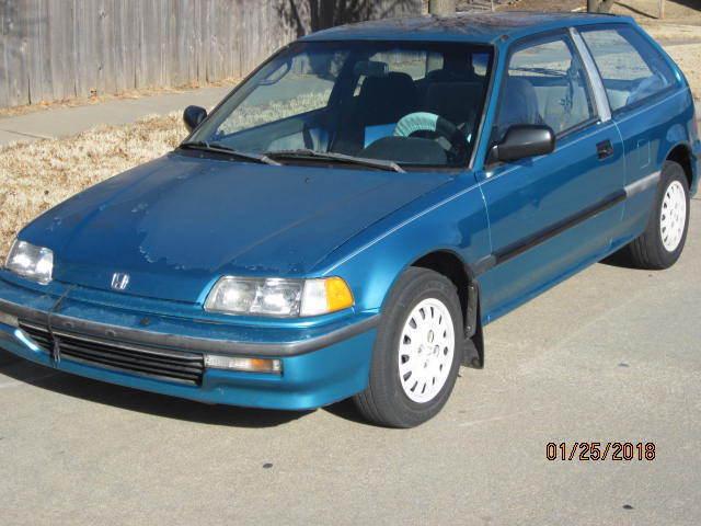 Amazing 1991 Honda Civic DX 1991 Honda Civic Hatchback 5 Speed Manual One  Owner. Tahitian Green Pearl 2017 2018