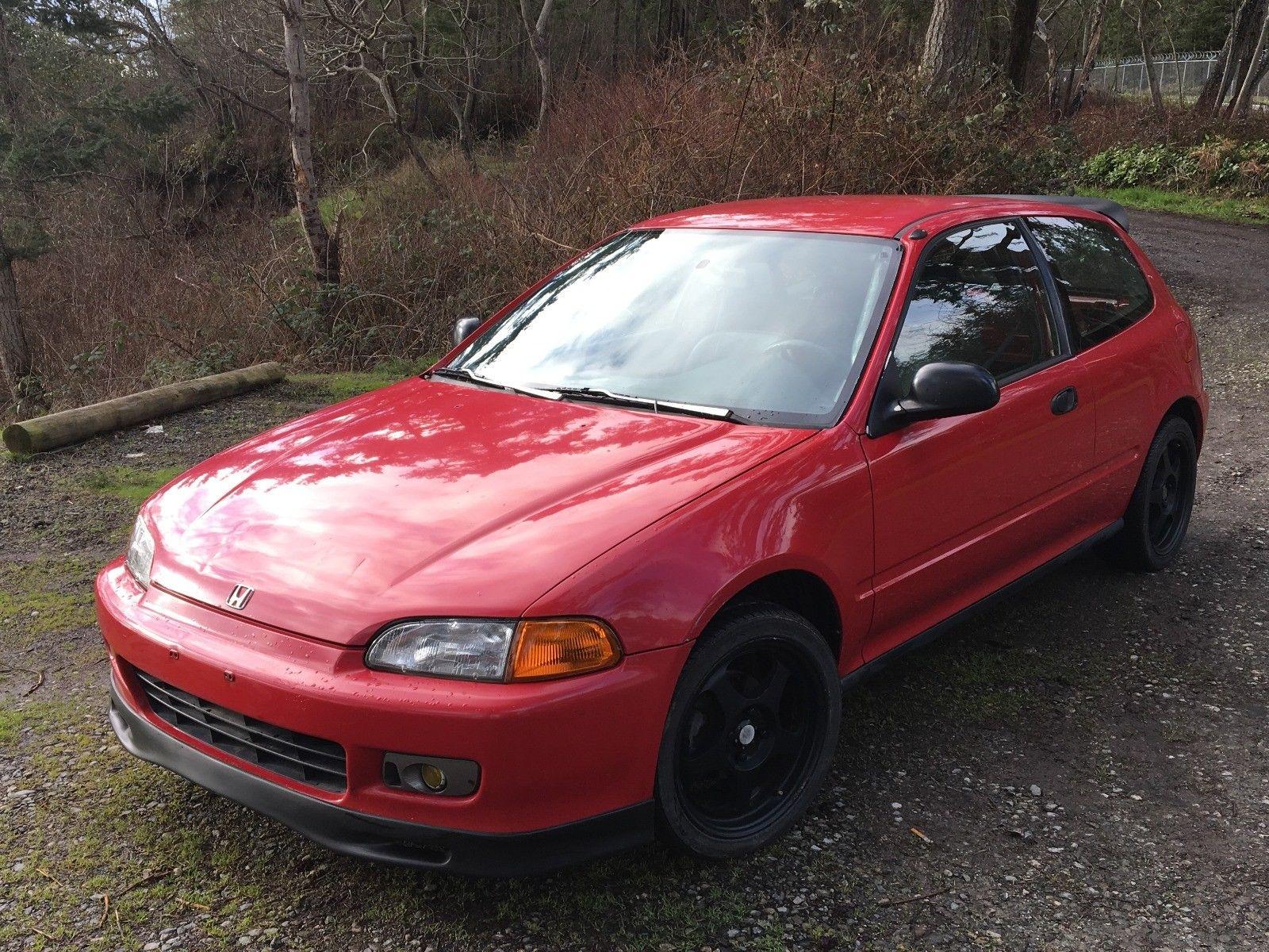 Awesome 1992 Honda Civic Dx 1992 Honda Civic Eg6 Milano Red