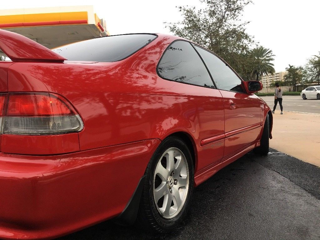 Used 1999 Honda Civic Si 1999 Honda Civic Si Milano Red Em1 2017 2018 Is In Stock And For Sale Mycarboard Com