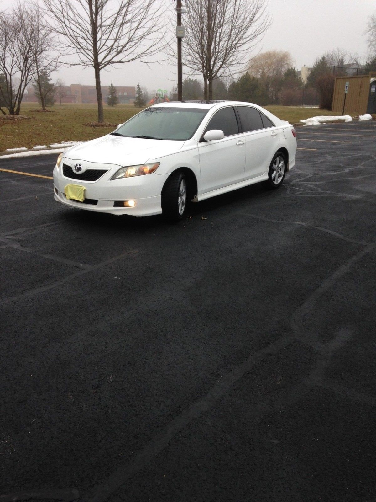 Amazing 2007 Toyota Camry Se V6 White With Black Leather Jbl Sunroof Spoiler 2018 2019