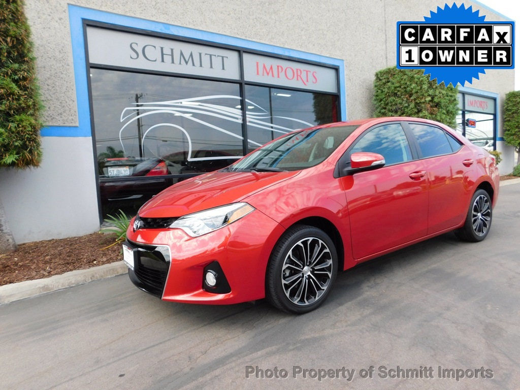 Great 2016 Toyota Corolla S Plus Full Factory Warranty 1 Owner Back Up Camera 2017 2018