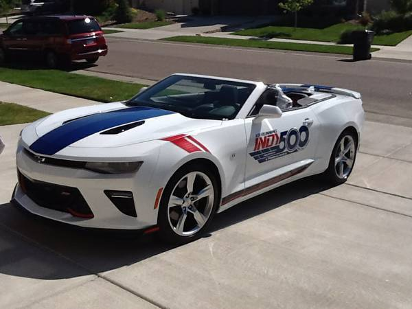 Awesome 2017 Chevrolet Camaro 2ss Convertible Ss W Indy 500 Pace Car 36 2018