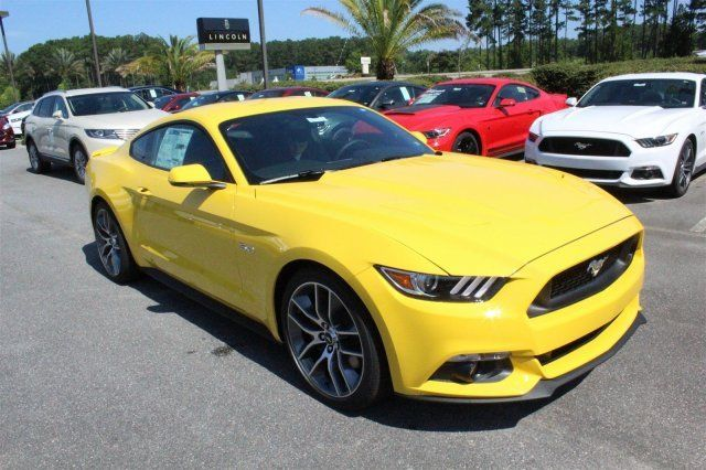 Amazing 2017 Ford Mustang Gt Premium Yellow With 19 Miles For 2018