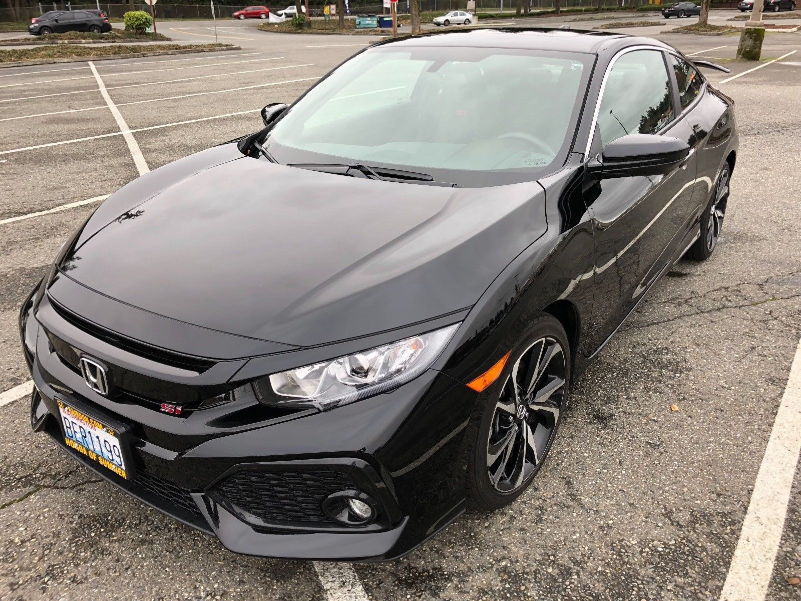 Great 2017 Honda Civic Si Black 2018