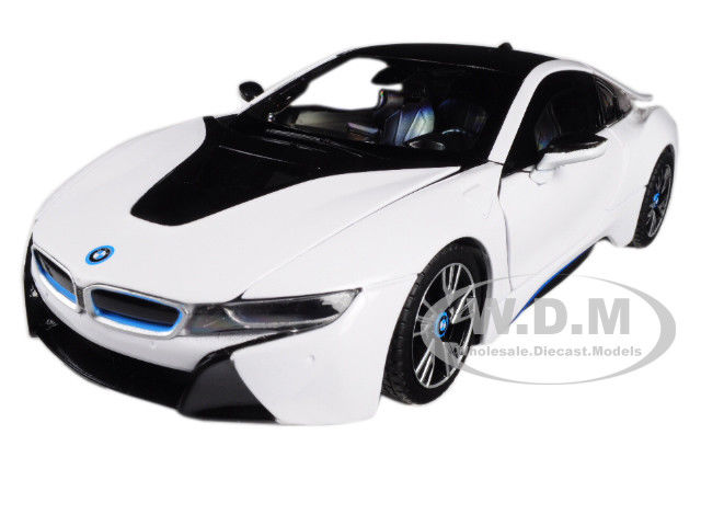 Great Bmw I8 White 1 24 Diecast Model Car By Rastar 56500 2018 2019
