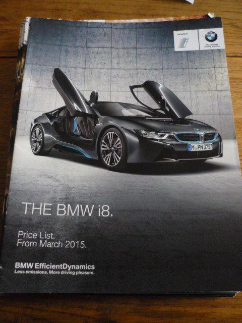 Amazing Bmw I8 Price List Brochure March 2015 2017 2018 Mycarboard