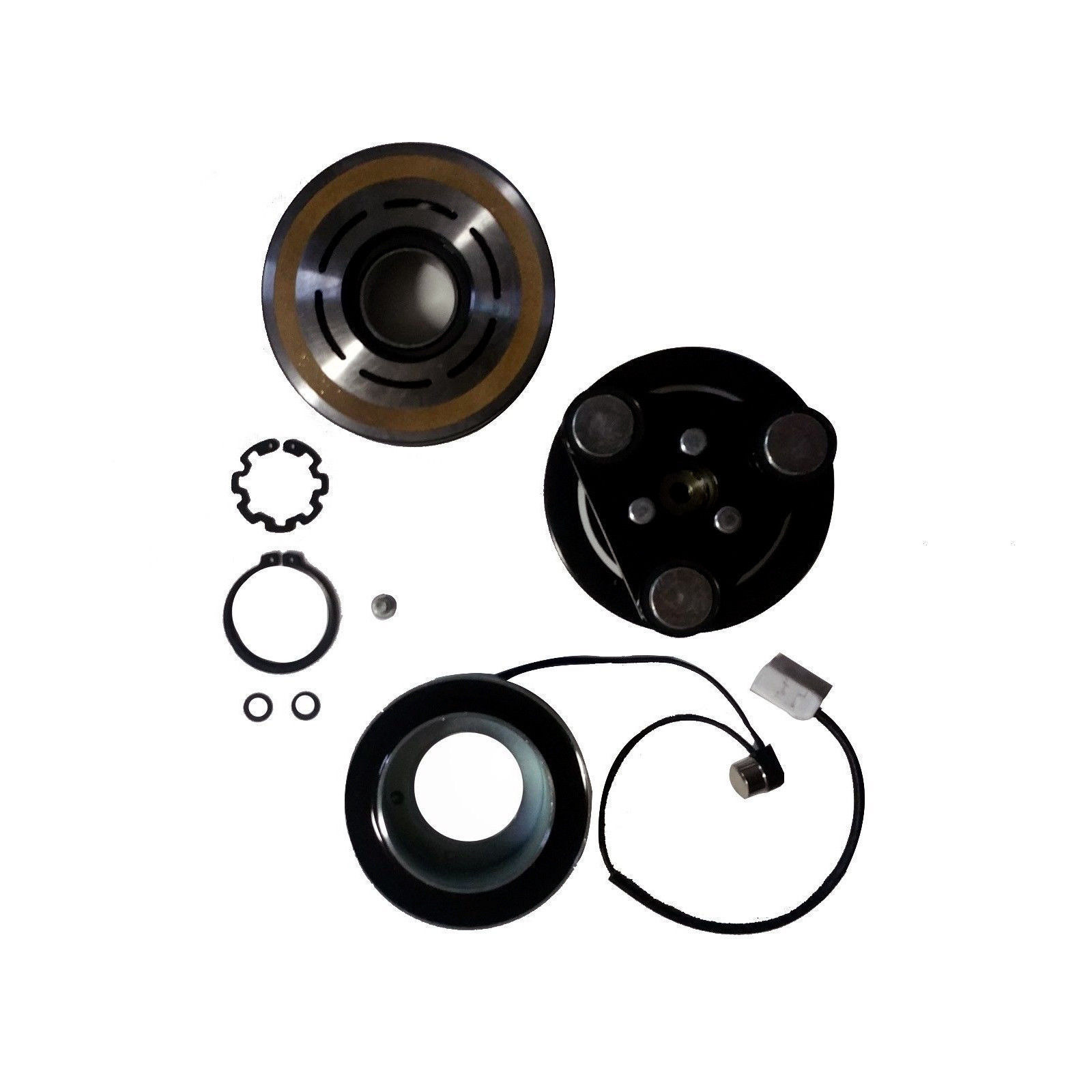 Plate Bearing Coil Pulley For MAZDA 3 5 US New A//C AC Compressor Clutch Kits